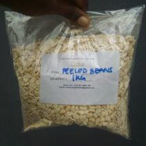Nigerian peeled beans