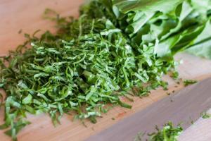 Ugwu Leaves (Chopped)