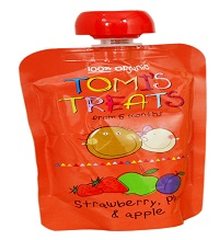 Tomi treat organic baby food