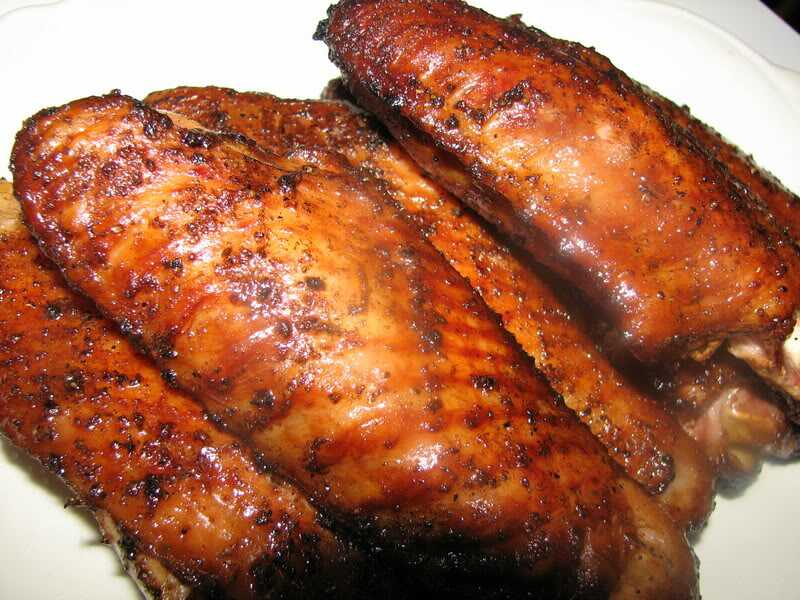Buy Freshly Spicy Roasted Turkey Wings From Themarketfoodshop.com