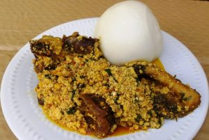 how to make pounded yam with a blended