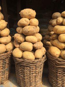 Buying irish potatoes in Nigeria