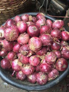 Buying onions in Nigeria