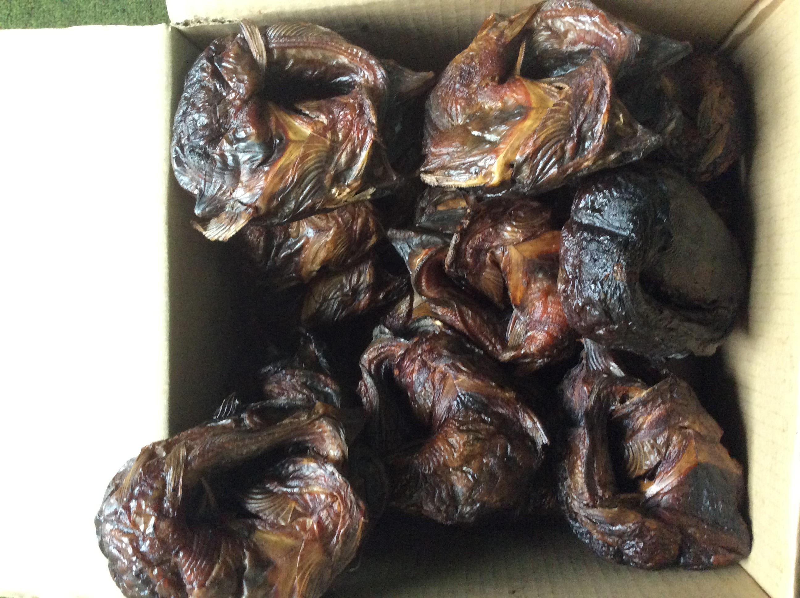 Dry fish market in Nigeria