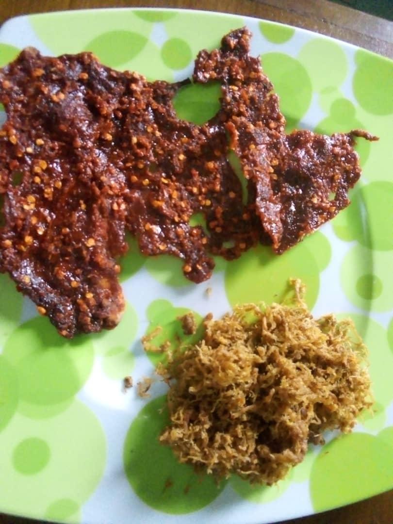 Nigerian shredded meat