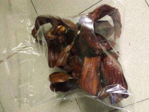 Smoked eja abo fish